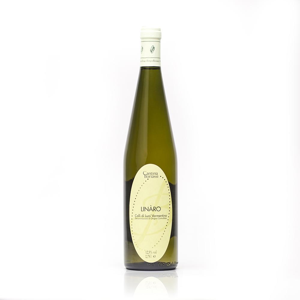 Linàro - Boriassi - Colli di Luni Vermentino - vino bianco - Liguria