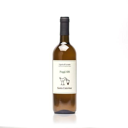 Poggi Alti - Santa Caterina - vino bianco - vermentino - Igt Riviera Ligure di Levante - Colli di Luni