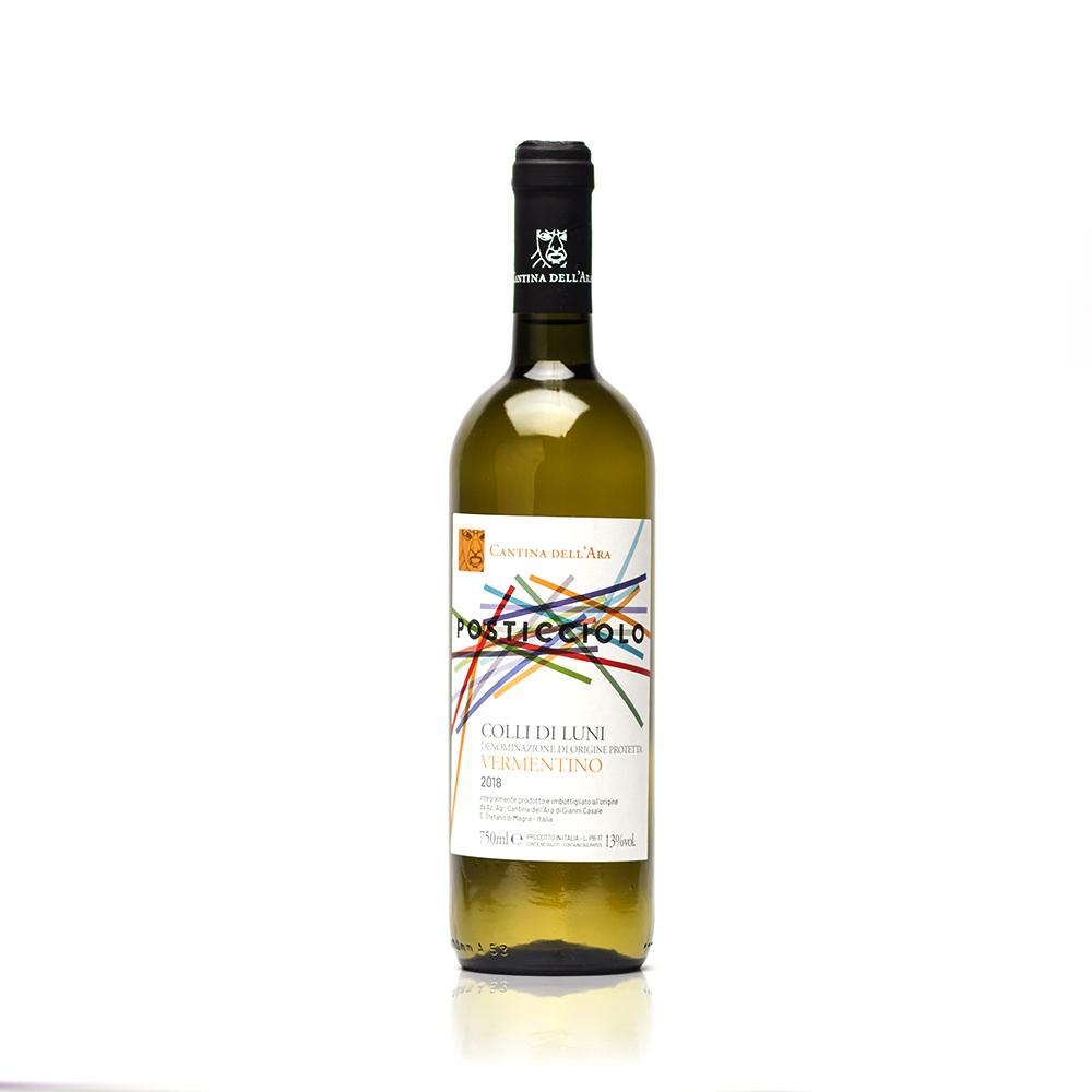 Posticciolo vermentino dei Colli di Luni Doc - Cantina dell'Ara - Colli di Luni - vino bianco