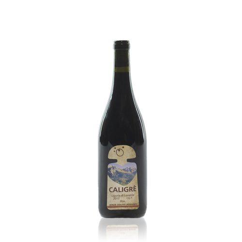 Caligrè di Terre della Luna è un vino rosso ottenuto da uve Granache coltive consuma filosofia naturale nel comune di Luni
