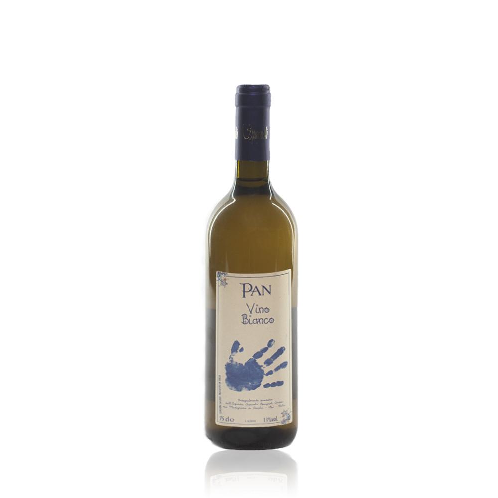 vino bianco macerato Pan dell'azienda agricola di Andrea e Ilenia Spagnoli