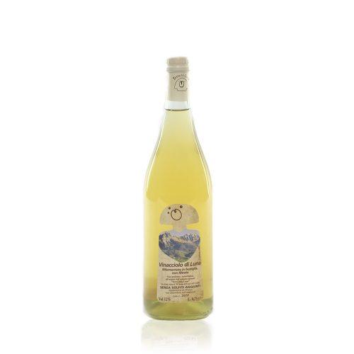 Vinacciolo di Luna di Terra della Luna è un vino frizzante metodo ancestrale prodotto con uve 100% vermentino coltivate con una filosofia totalmente naturale