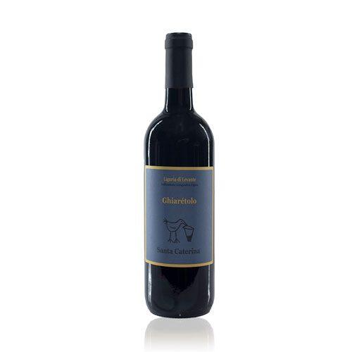 Ghiarétolo è un vino rosso dell'azienda Santa Caterina Igt Levante Ligure ottenuto da uve 100% merlot coltivate seguendo le pratiche della biodinamica