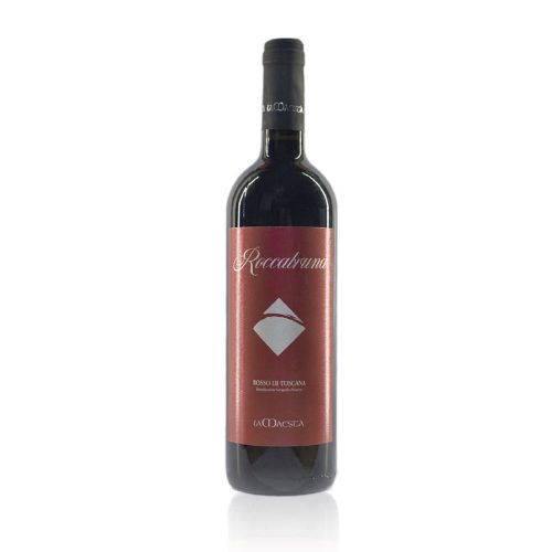 Roccabruna è un vino rosso ottenuto da un uvaggio tra merlot e aree uve autoctone dei Colli di Luni prodotto dall'azienda agricola La Maestà con una filosofia totalmente biologica